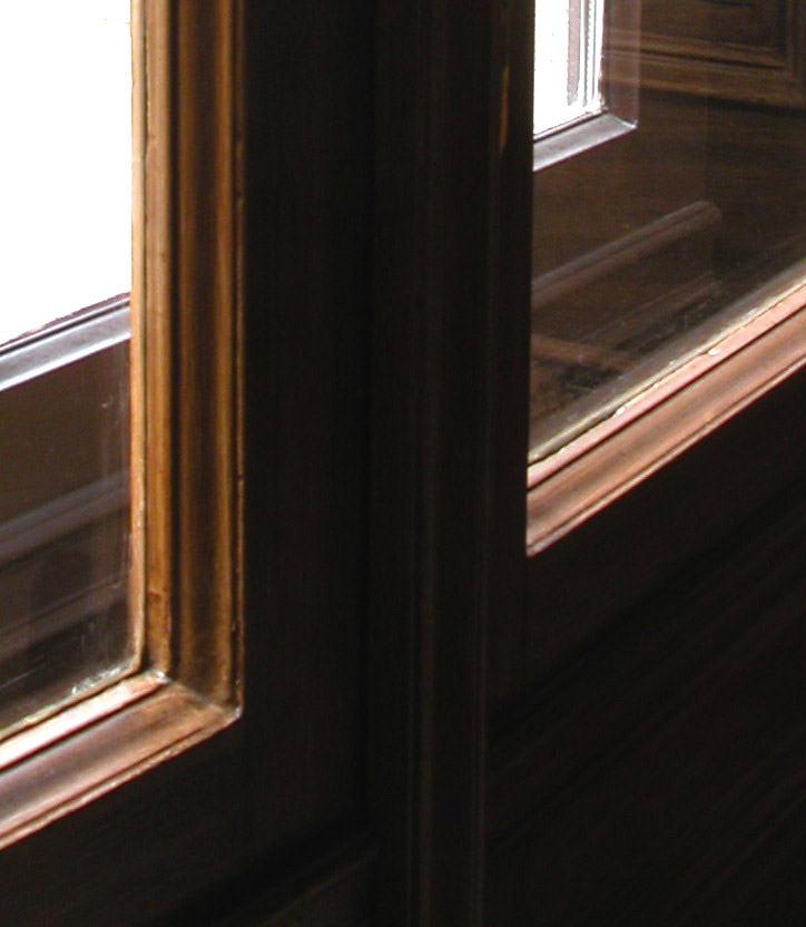 D-típusú gyaluval készült ablakprofil
